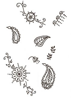 Henna Patterns By karennayak on CakeCentral.com