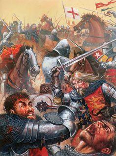 """Edward III, Battle of Crécy, 1346"""