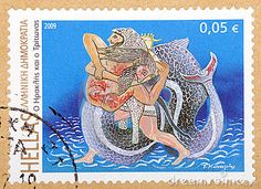 Greek Stamps 2008-2009 by Diamantis Seitanidis, via Dreamstime
