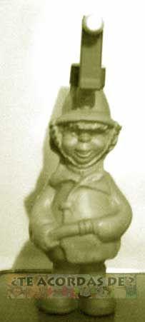 Juguete de carnaval de los 70 y 80...El bombero loco..TE ACORDAS DE