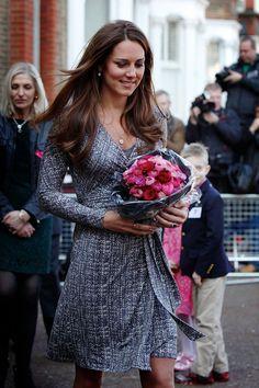 Catherine, Duchess Of Cambridge in Max Mara