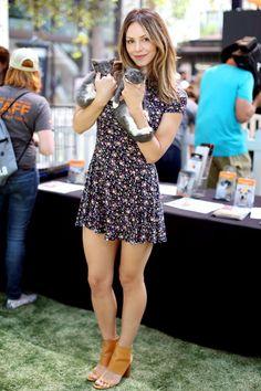 a beautiful mind — Katharine McPhee at the LA Clear The Shelters. American Idol, Beautiful Legs, Gorgeous Women, Beautiful Mind, Le Jolie, Female Actresses, Great Legs, Hot Brunette, Hot Bikini