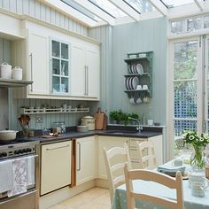 turn your conservatory into a kitchen conservatory photo gallery ideal home housetohome - Kitchen Conservatory