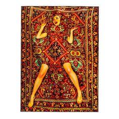 Toilettenpapier Westeuropäischer Teppich - Seletti Lady On Rectangular Modern Cotton, Polyester Carpet Decor, Wall Carpet, Bedroom Carpet, Rugs On Carpet, Carpet Ideas, Carpets, Gray Carpet, Carpet Trends, Ferrari