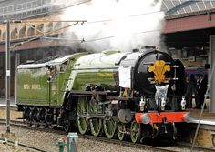 Prince Charles offically naming the Tornado steam locomotive class A1 Peppercorn at York Train Station