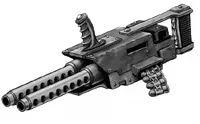 Echon Pattern Mark III Assault Stubber - Necromunda - Warhammer 40K - GW Anime Weapons, Weapons Guns, Warhammer 40k Art, Concept Weapons, War Machine, Firearms, Concept Art, Black Order, Fantasy