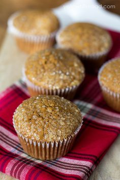 Gingerbread muffins #Food #Muffins