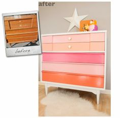 Cuckoo 4 Design: Before and After - restoration of a midcentury dresser