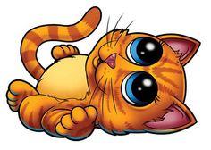 Orange Cat - Pettoo Temporary Tattoo