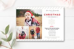 Christmas Mini Session Template by By Stephanie Design on @creativemarket