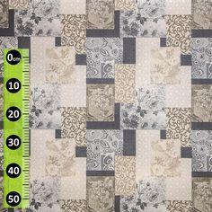 Ubrus látkový 27884-1001, nešpinivý s akrylovým nástřikem, šedý patchwork, š. 140cm (metráž) - Ubrusy textilní - Ubrusy - ... a ještě více | Internetový obchod Chci POVLEČENÍ.cz Quilts, Blanket, Scrappy Quilts, Quilt Sets, Blankets, Log Cabin Quilts, Cover, Comforters, Quilting