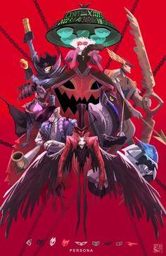 Persona 5 Haru Okumura/Noir Persona 5, Persona, Game