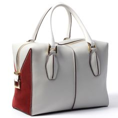 Handle With Care. Tod's bag, $1,595.00 for a top bag pick for Spring 2014