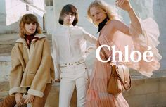 The Chloe woman's bohemian spirit travels to Puglia in Southern Italy for the brand's fall-winter 2016 campaign. Models Frederikke Sofie,…