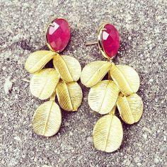 Pendientes - De la Riva Complementos #jewelrystyle
