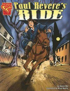 Paul Revere's Ride (Graphic History) by Xavier W. Niz