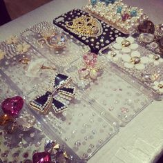 Bling Bling Diamond iPhone Cases - www.chapnlle.com Mobile Cases, Vs Pink, Bling Bling, Betsey Johnson, Hello Kitty, Iphone Cases, Diamond, Accessories, Iphone Case