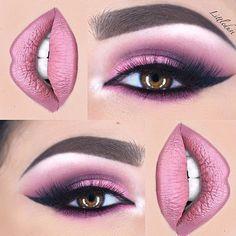 "So incredibly beautiful! ✨✨ @littledustmua @littledustmua @littledustmua ✨✨ @anastasiabeverlyhills liquid lipstick in ""Dolce"" on lips #amazing #auroramakeup #anastasiabeverlyhills #beauty #beautiful #eyes #eyemakeup #fashion #girls #instamood #instalove #lips #makeup #maquiagem #mua #maquillage #maccosmetics #lipstick #motivecosmetics #pretty #stunning #instamakeup #urbandecay #universodamaquiagem #universodamaquiagem_oficial #vegas_nay #makeupaddict #wedding #littledustmua"