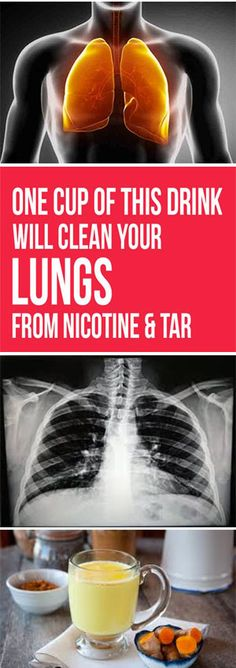 One Cup of This Drink Will Clean Your Lungs from Nicotine and Tar - WesternRecipes