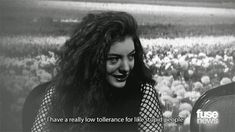 She doesn't dumb herself down. | Community Post: 19 Reasons Why Lorde Is Worthy Of Her Name