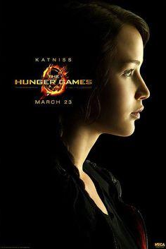 """Poster de The Hunger Games """"Los juegos del hambre"""" (movie 2012) libro de Suzanne Collins"""