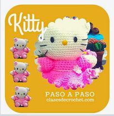 Tejiendo lindo - Graciela Gaudi: Kitty a crochet: paso a paso ¡gratis! - Amigurumis...