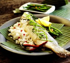 Steamed Fish with Chickpeas and Currants Recipe | Seafood | Pinterest ...