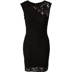 Gestuz Lace Dress ($210) ❤ liked on Polyvore