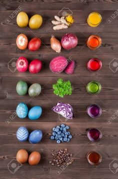 Natural Easter Eggs Dyeing With Natural Dye Color Out Of Turmeric Natural Egg Dye