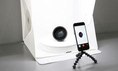 自宅がスタジオに。スマホでの「360°画像」を撮影可能にするターンテーブル | roomie(ルーミー)