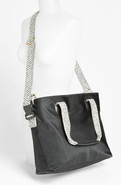 designer diaper bags tory burch 38mq  Tory Burch Perforated Diaper Bag available at #Nordstrom