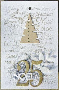 simply graphic: Joyeux Noël ! carte de 6àlamaison: 25-12-2015