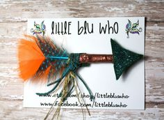 Merida Inspired Arrow Hair Clip Brave Inspired by LittleBluWho