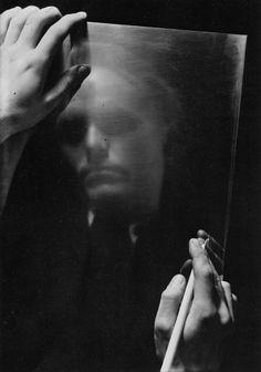 Josef Sudek (1896-1976), Portrait de Vaclav Sivko, 1944