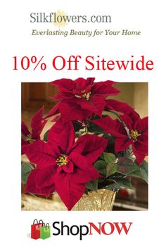 SilkFlowers.com Coupons: Get 10% Off Sitewide!