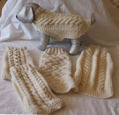 Items similar to Hand Knitted Aran Dog Jumper, Dog Sweater, can be custom made for you dog. on Etsy All Dogs, I Love Dogs, Dachshund Sweater, Dog Jumpers, Shih Tzu Mix, Dog Coats, Fingerless Gloves, Arm Warmers, Ideas Para