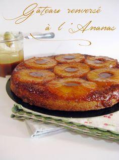 Fall Desserts, Dessert Recipes, Cake & Co, Pineapple Cake, Pumpkin Spice Cupcakes, Gluten, Cream Recipes, Homemade Cakes, French Food