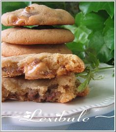 Biscuits au beurre d'arachide et aux Oh Henry Ricardo vol.8 no.5
