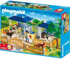 Amazon.com: Playmobil Animal Nursery: Toys & Games