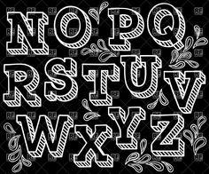 Free Chalkboard Font Alphabet Sketchy Hand Drawn Font