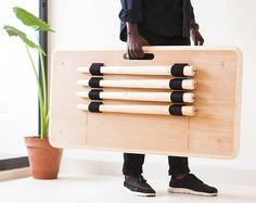 アフリカで生まれた持ち運びやすいテーブルTebur