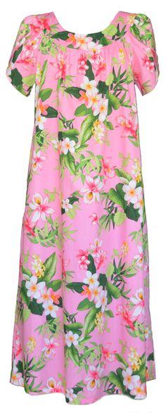 39 Best MuuMuu, Large, Plus Size island Print house dress images in ...
