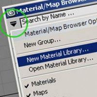 How to save materials in 3ds Max