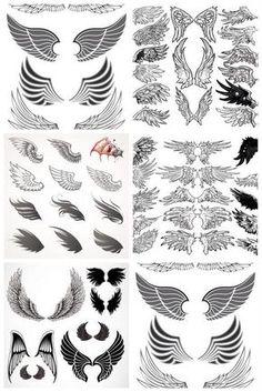Bottom left square top left wing