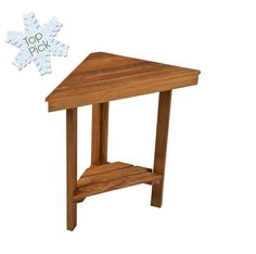 Mini Corner bench.  Perfect for shaving legs in the shower, plus a little shelf to store products!