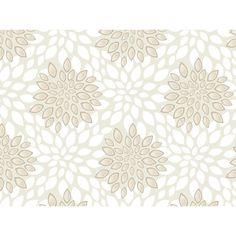Swag Paper Poppy Botanical Panel Wallpaper | AllModern