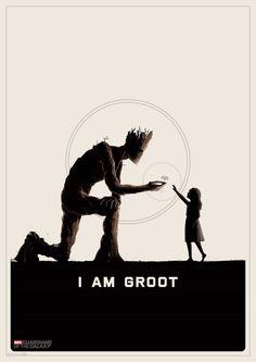 "guardianes de la galaxia ..Iam Groot..""We are Groot"""