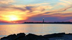 """AccuFan Weather Photo of the Day: Sunset at the cove in Cape May, NJ by """"Kimpossible""""3/22/15."""