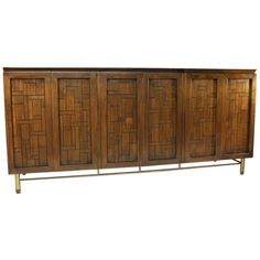 Bert England design for Johnson Furniture Company Sideboard. This was also sold through John Stuart.