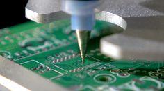 Solder paste dispensing